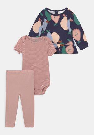 SET - T-shirt basic - multi-coloured