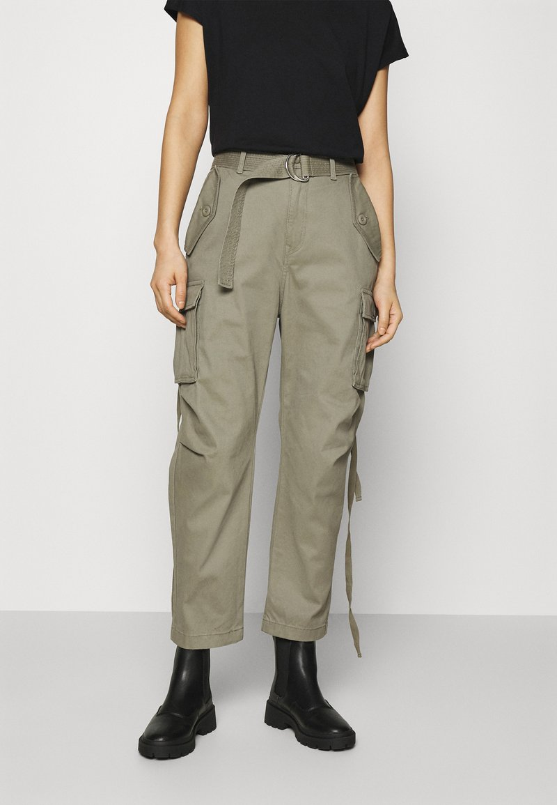 Replay - PANTS - Cargo trousers - moss green