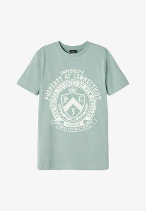 Camiseta estampada - blue surf