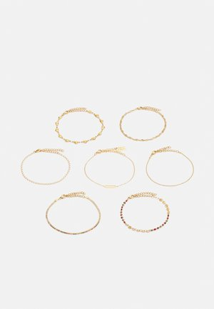 7 PACK - Bracelet - gold-coloured
