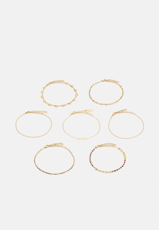 7 PACK - Bracciale - gold-coloured