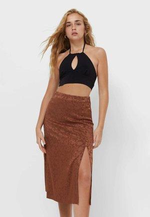 Áčková sukně - light brown