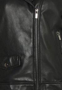 RIANI - Leather jacket - black - 6