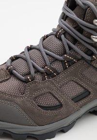 Jack Wolfskin - VOJO 3 TEXAPORE MID - Hiking shoes - tarmac grey/pink - 5