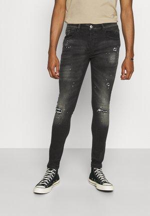 LIMERO - Jeans Skinny Fit - black wash