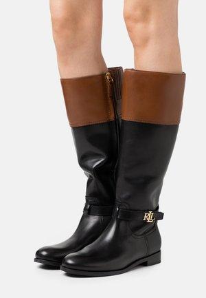 BAYLEE - Boots - black/deep saddle