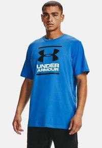 Under Armour - FOUNDATION - Print T-shirt - brilliant blue - 0