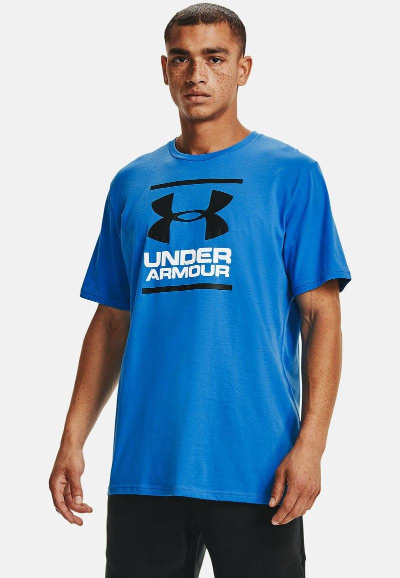 Under Armour - FOUNDATION - Print T-shirt - brilliant blue