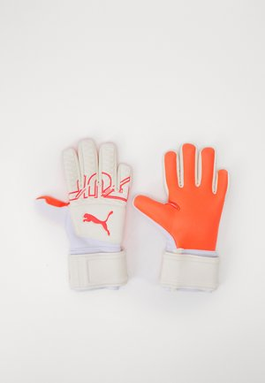 FUTURE GRIP UNISEX - Goalkeeping gloves - white/red blast