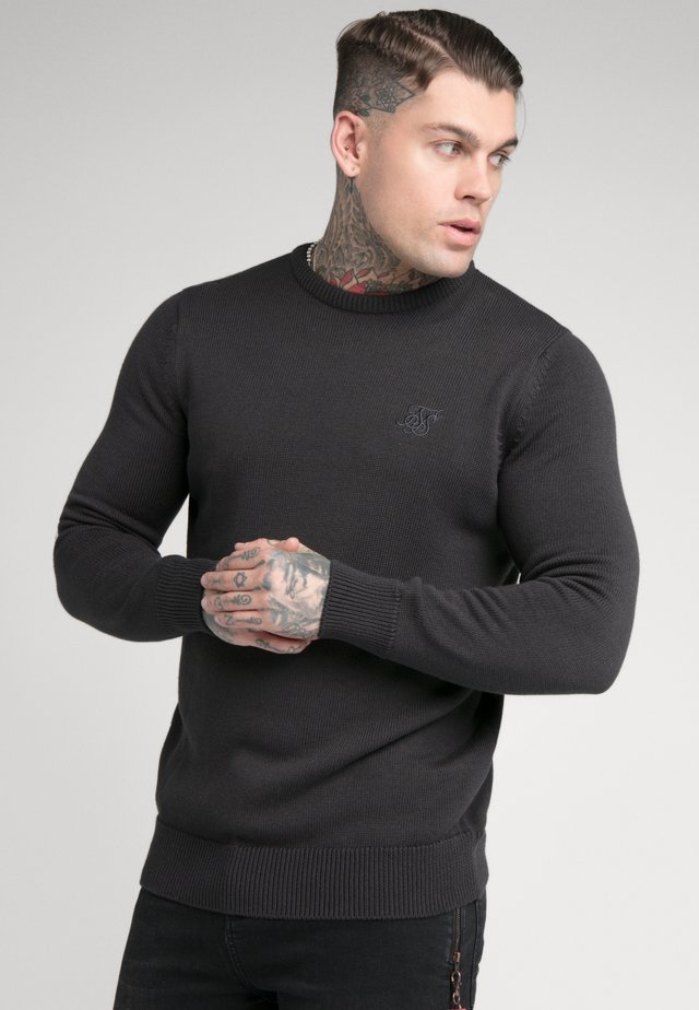 CREW - Strickpullover - charcoal