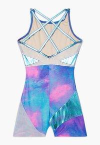 Capezio - GIRLS' GYMNASTICS STRAPPY BACK BIKETARD - Gym suit - pink/multicolour - 1