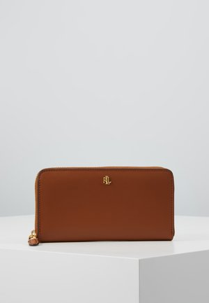 SUPER SMOOTH ZIP  - Wallet - lauren tan/monarc