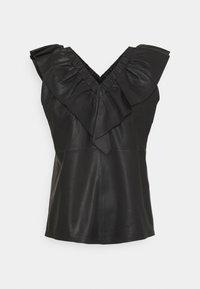 DEPECHE - T-shirt print - black - 0