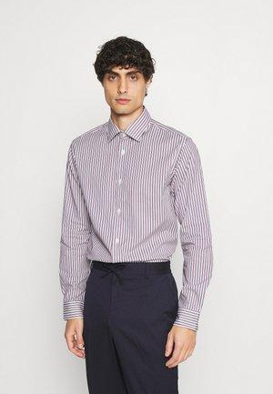 SLHREGPEN-TED SHIRT STRIPES - Shirt - bright white