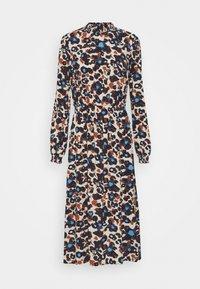 Vila - VISAG BLUME DRESS - Kjole - navy blazer - 0