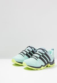 adidas Performance - TERREX AX2R - Hiking shoes - clear mint/carbon/hi-res yellow - 3