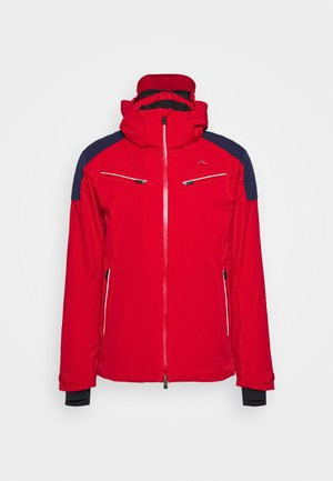 MEN FORMULA JACKET - Lyžařská bunda - red/dark blue