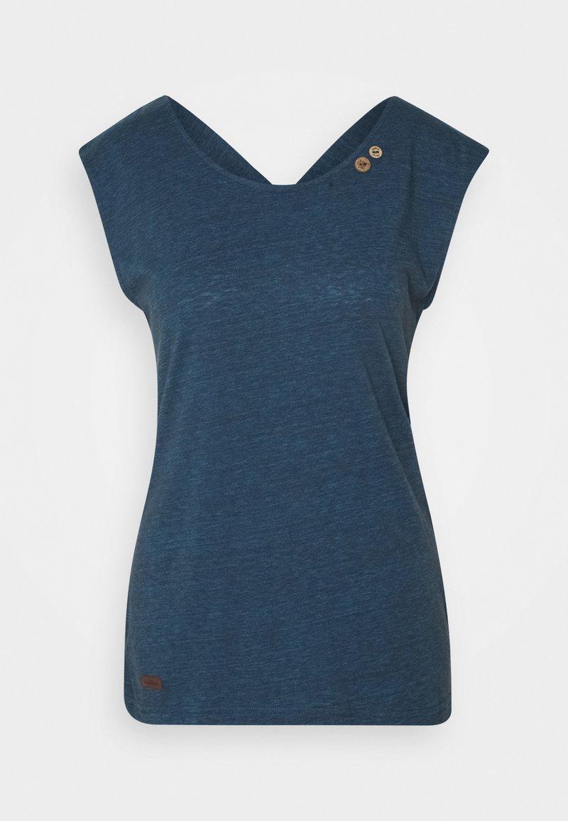Ragwear - SOFIA - Basic T-shirt - navy
