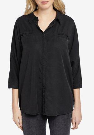 MYMA - Button-down blouse - black
