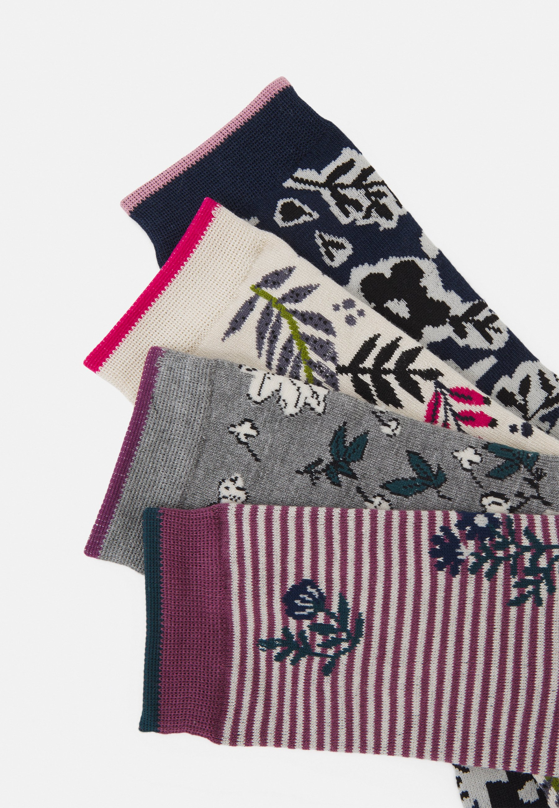 Femme RASMINE FLORAL SOCK BOX 4 PACK - Chaussettes