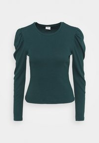 JDY - JDYCEREN PUFF SLEEVE - Long sleeved top - ponderosa pine - 0