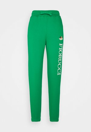 VINTAGE ANGELS LOGO JOGGER - Tracksuit bottoms - green