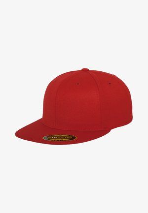 PREMIUM FITTED - Kšiltovka - red