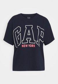 GAP - EASY TEE - Print T-shirt - navy uniform - 0