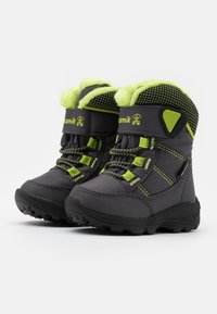 Kamik - STANCE UNISEX - Winter boots - charcoal/lime - 1