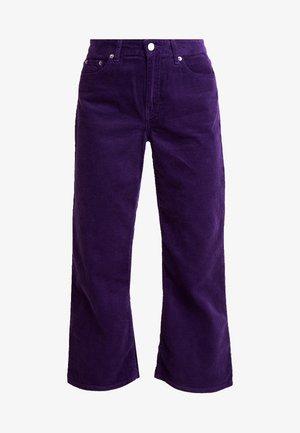 CADELL - Trousers - deep purple