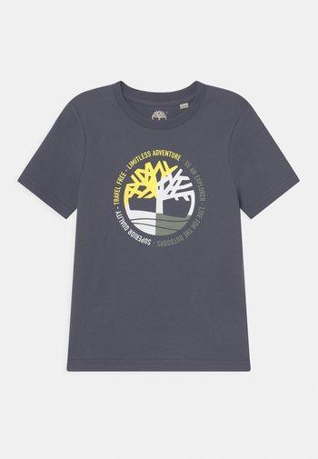 SHORT SLEEVES - Print T-shirt - medium grey