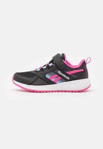 ROAD SUPREME 2 ALT SHOES - Neutral running shoes - core black/true pink/digital blue