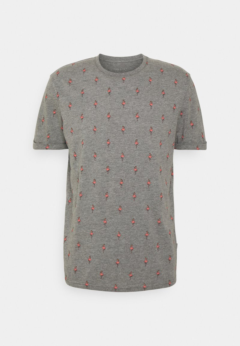 Pier One - T-shirt med print - grey