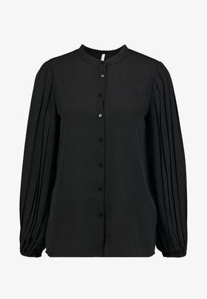 CEMRE - Button-down blouse - black