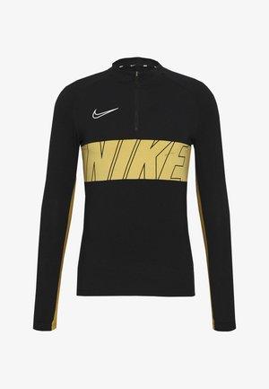 DRY ACADEMY - Funkční triko - black/jersey gold/white