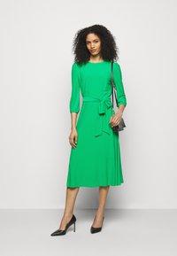 Lauren Ralph Lauren - FELIA LONG SLEEVE DAY DRESS - Jersey dress - stem - 1