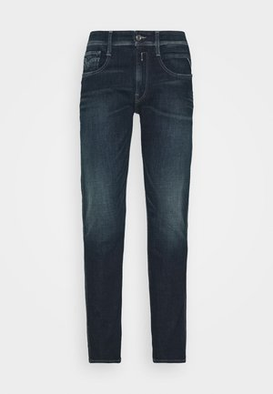 ANBASS AGED - Jeans slim fit - dark blue
