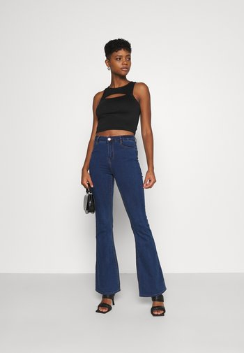 LAWLESS FLARE - Široké džíny - blue