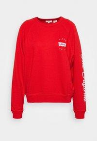 GRAPHIC EVERYDAY CREW - Sweatshirt - poppy red