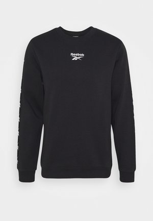 TAPE CREW - Sweatshirt - black