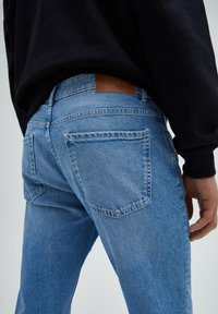 PULL&BEAR - Slim fit jeans - stone blue denim - 4