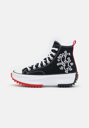 CONVERSE X KEITH HARING RUN STAR HIKE - Baskets montantes - black/white