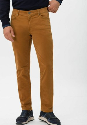 STYLE CADIZ - Jeans a sigaretta - curcuma