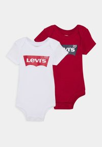 Levi's® - BATWING 2 PACK UNISEX - Body - white/red - 0