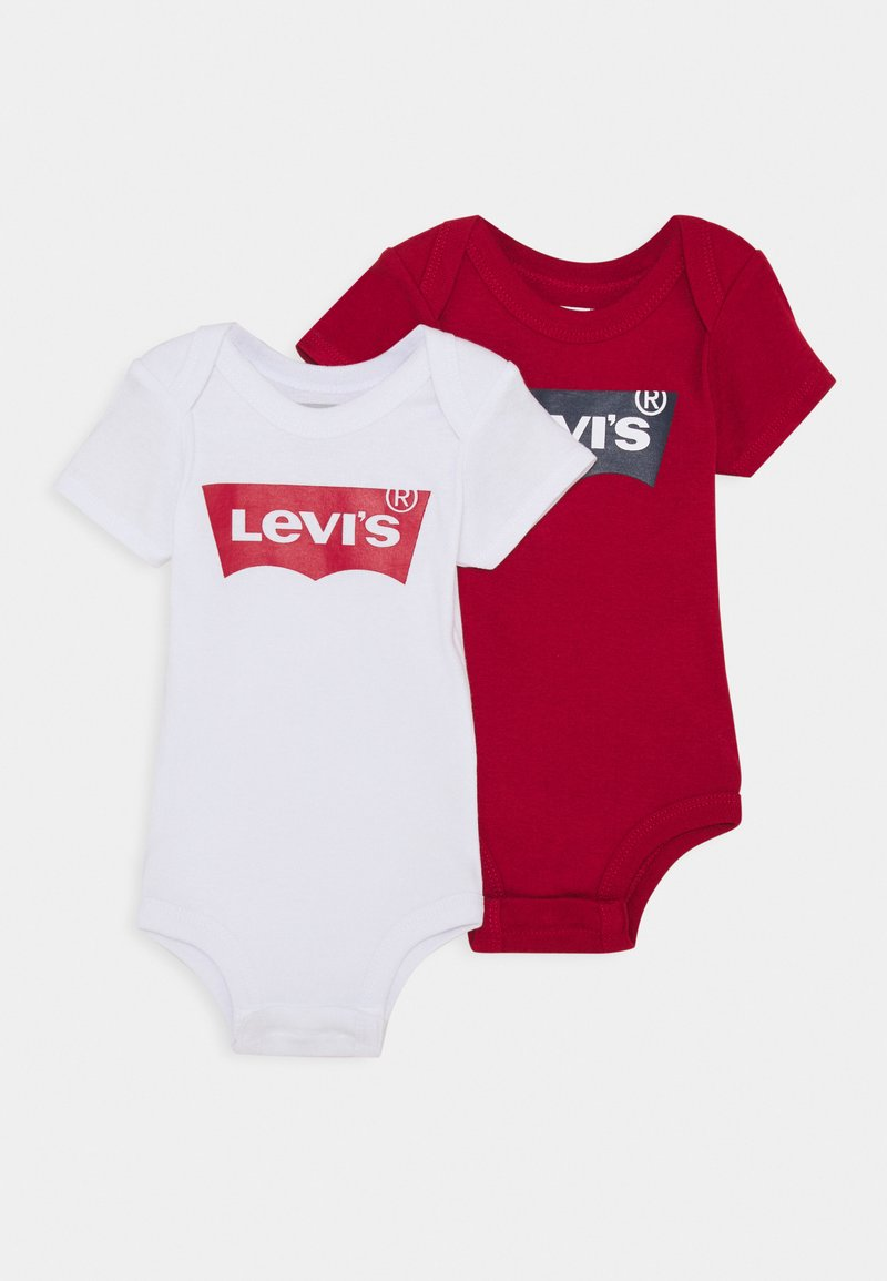 Levi's® - BATWING 2 PACK UNISEX - Body - white/red