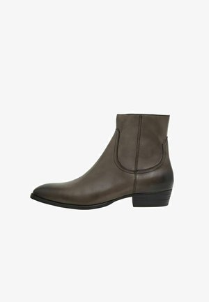 BIABEACK SUEDE - Classic ankle boots - lightgrey