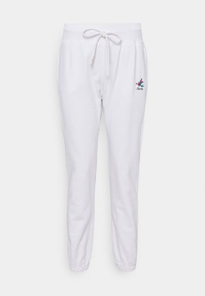ROSE COLLECTION PANTS - Pantaloni sportivi - white