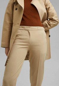 Esprit Collection - Trousers - sand - 5