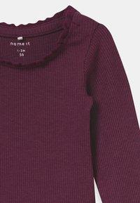 Name it - NBFROSEMARIE SET - Leggings - Trousers - italian plum/deauville mauve - 3