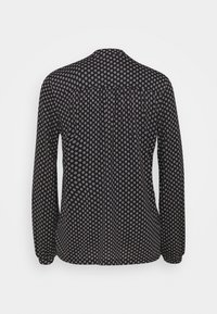 Marc O'Polo - LONG SLEEVE HIGH NECK - Long sleeved top - black - 1